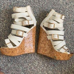 Cute summer platform sandals!